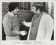 Rocky original 1977 8x10 photo Sylvester Stallone Burt Young