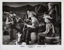 Slim Carter original 1957 8x10 photo Jock Mahoney sings with cowboy band