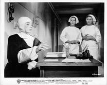 The Nun's Story 8x10 inch original photo Audrey Hepburn at her desk