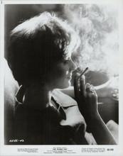 The Ipcress File original 1965 8x10 photo Sue Lloyd smokes cigarette in profile
