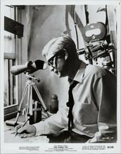 The Ipcress File original 1965 8x10 photo Michael Caine with surveillance camera
