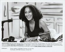Tracee Ellis Ross original 8x10 photo hosting The Dish TV series