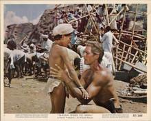Tarzan Goes To India original 8x10 lobby card 1962 Jock Mahoney