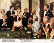 The Big Sleep 1978 original 8x10 lobby card Oliver Reed Sarah Miles craps table