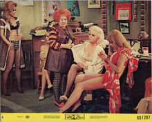 The Love God original 1969 8x10 lobby card Maureen Arthur sexy girls