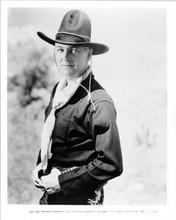William Boyd hands on gun belt 1936 as Hopalong Cassidy 8x10 inch vintage photo