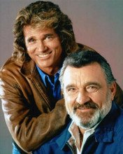Highway to Heaven TV Victor French Michael Landon 8x10 inch photo