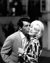 Dean Martin kisses Marilyn Monroe Somethings Gotta Give unfinished movie 8x10