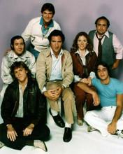 Taxi Bobby Latka Reiger Elaine Louie Banta Burns first season cast 8x10 photo