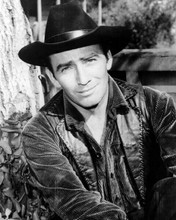 James drury in black leather waistcoat as ranch foreman The Virginian 8x10 photo