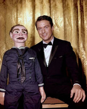 The Twilight Zone 1962 The Dummy Cliff Robertson on stage with Willie 8x10 photo
