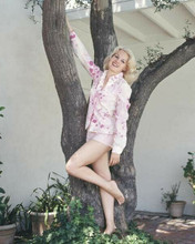 Carroll Baker rare from original negative barefoot 1960's by tree 8x10 photo