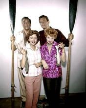 Lucy Desi comedy Hour Lucille Ball Howard Duff Ida Lupino fishing 8x10 photo
