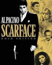 Scarface 1983 DVD poster art Al Pacino Pfeiffer Bauer Mastrontonio 8x10 photo