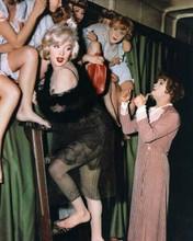 Some Like it Hot Marilyn Monroe Tony Curtis Jack Lemmon on sleeper train 8x10