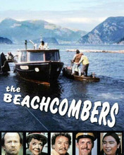 The Beachcombers TV series the Persephone at sea & all cast pictures 8x10 photo