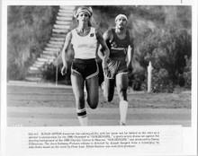 Goldengirl 1979 original 8x10 photo Susan Anton races on track