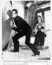 The Spy Who Loved Me original 8x10 inch photo 1977 Roger Moore Barbara Bach wet