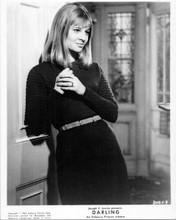 Julie Christie original 8x10 inch photo 1965 in black dress Darling