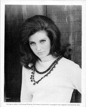 Gayle Hunnicutt original 8x10 inch photo portrait in white sweater 1960's