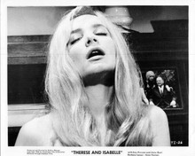 Therese and Isabelle original 8x10 inch photo 1968 Anne Gael face in ecstasy