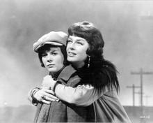 Gypsy 1962 original 8x10 inch photo Rosalind Russell hugs Natalie Wood