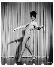 Natalie Wood original 8x10 inch photo 1962 Gypsy on stage showing legs