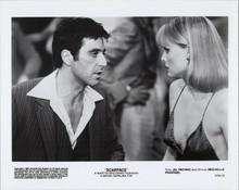 Scarface original 1983 8x10 photo Al Pacino Michelle Pfeiffer in scene