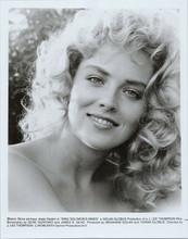 Sharon Stone original 1985 8x10 photo portrait King Solomon's Mines