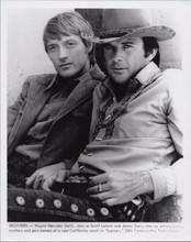 Lancer TV series 1970's original 8x10 photo stars Wayne Maunder James Stacy