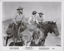 Posse From Hell original 1961 8x10 photo Audie Murphy John Saxon on horseback
