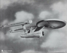 Star Trek original 1976 Paramount 8x10 photo Enterprise model