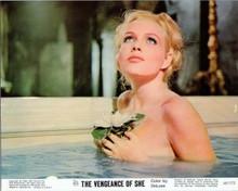 The Vengeance of She 1968 Hammer Olinka Berova takes a bath 8x10 inch photo
