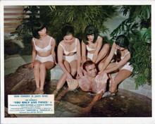 You Only Live Twice Sean Connery smiles bathed by Japanese beauties 8x10 photo