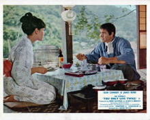You Only Live Twice Sean Connery dines Japanese style with Mie Hama 8x10 photo