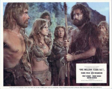 One Million Years BC Raquel Welch John Richardson with shell tribe 8x10 photo