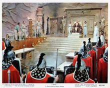 She 1965 Ursula Andress on throne Peter Cushing John Richardson 8x10 photo
