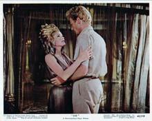 She 1965 Hammer classic Ursula Andress embraces John Richardson 8x10 inch photo