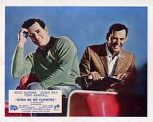 Send me No Flowers Rock Hudson & Tony Randall on golf cart 8x10 inch photo