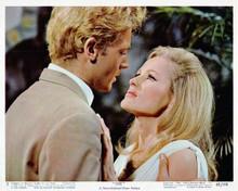 She 1965 Hammer classic John Richardson Ursula Andress romantic scene 8x10 photo