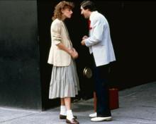 The King of Comedy 1982 Sandra Bernhard Robert De Niro in street 8x10 inch photo