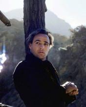 Marlon Brando charismatic pose leaning on tree One Eyed Jacks 8x10 inch photo
