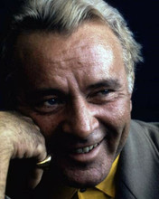 Richard Burton always classy & debonair smiling portrait 1970's era 8x10 photo