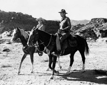 They Came To Cordura 1959 Rita Hayworth & Gary Cooper on horseback 8x10 photo