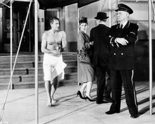 That Touch of Mink Cary Grant with towel around waist beefcake scene 8x10 photo