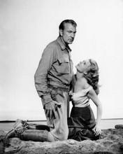 They Came To Cordura 1959 Gary Cooper & Rita Hayworth sizzling scene 8x10 photo