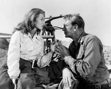 They Came To Cordura 1959 Gary Cooper & Rita Hayworth tender moment 8x10 photo