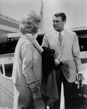 That Touch of Mink Doris Day & Cary Grant by American Airlines plane 8x10 photo