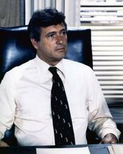 Rock Hudson sat behind desk 1977 McMillan TV series 8x10 inch photo