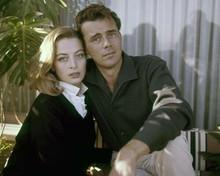 Dirk Bogarde & Capucine romantic portrait for Song Without End 1960 8x10 photo